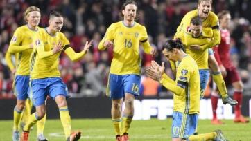Шведы не оставили шансов Уэльсу
