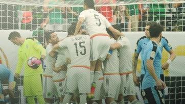 Сборная Мексики уверенно переиграла Уругвай
