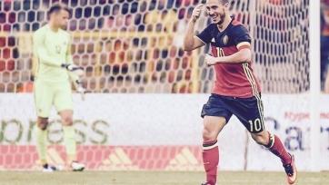 Азар: «Надеюсь, буду забивать головой еще»