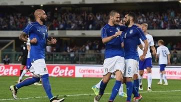 Сборная Италии одержала победу над финнами