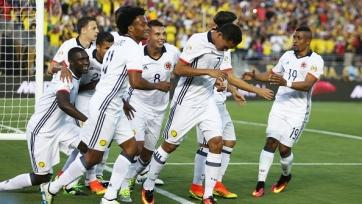 Сборная Колумбии обыграла Парагвай и вышла в плей-офф Кубка Америки