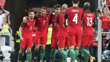 Сборная Португалии забила семь безответных мячей эстонцам