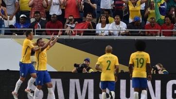 Сборная Бразилии разгромила гаитян
