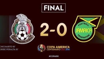 Сборная Мексики выиграла у Ямайки и вышла в плей-офф Кубка Америки