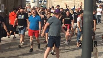 В Марселе подрались английские, российские и французские фанаты