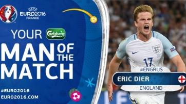 Эрик Дайер – лучший игрок матча между Англией и Россией