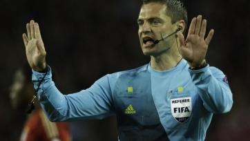 Дамир Скомина – главный судья матча Россия – Словакия