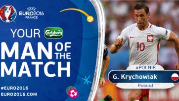 Гжегож Крыховяк – лучший игрок матча между Польшей и Северной Ирландией