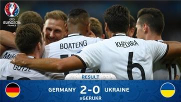 Сборная Германии одолела украинцев