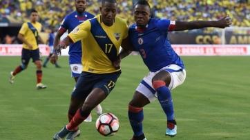 Сборная Эквадора разгромила Гаити