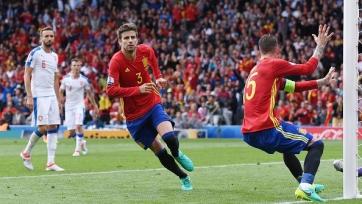 Испания дожала сборную Чехии