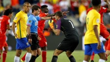 Миранда: «Все видели, что перуанский игрок сыграл рукой»