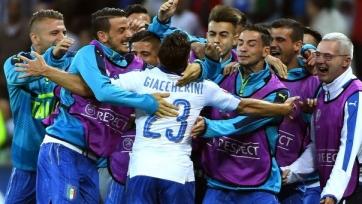 Сборная Италии обыграла бельгийцев
