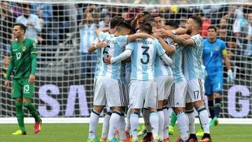 Сборная Аргентины разгромила Боливию на Кубке Америки