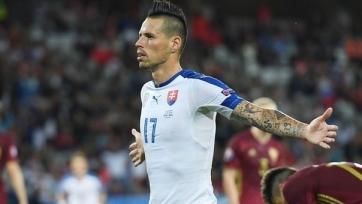 Гамшик – лучший игрок матча Россия – Словакия