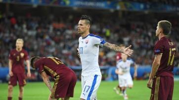 Наставник словацкой сборной заявил, что Гамшик должен играть в большом клубе