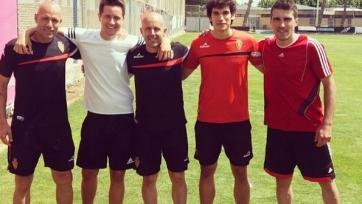 Андер Эррера тренируется с «Сарагосой»