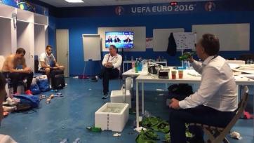 Президент РФС пил пиво с игроками сборной России после матча с Англией