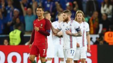 Роналду проявил высокомерность, отказавшись меняться футболкой с игроком сборной Исландии