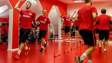 Ещенко и Зобнин начали тренироваться в стане «Спартака»