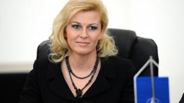 Президент Хорватии осудила действия болельщиков команды во время матча с чехами