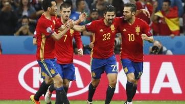 Сборная Испании не пропускает уже в семи матчах ЧЕ кряду