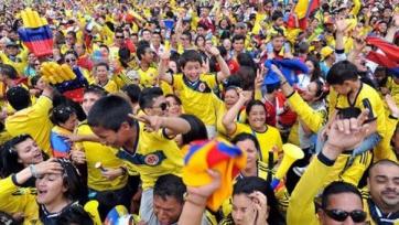 Сборная Колумбии пробилась в полуфинал Кубка Америки