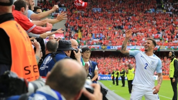 Уокер: «Англия – одна из лучших команд на планете»