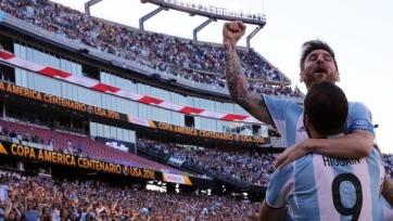 Сборная Аргентины разгромила Венесуэлу и вышла в полуфинал Кубка Америки