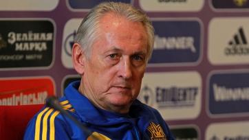 В скором времени у украинской сборной сменится наставник