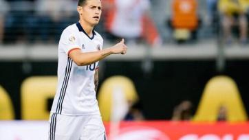 Хамес Родригес может перейти в «Манчестер Юнайтед»