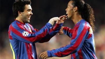 Деку: «Роналдиньо был талантливее, чем Месси или Роналду»