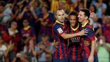 Иньеста: «Не думаю, что Неймар покинет «Барселону»