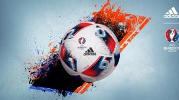 Adidas представила мяч, который будет использоваться в матчах плей-офф Евро-2016