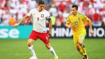 Украина проиграла Польше, так и не открыв счёт голам на этом Евро