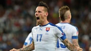 Словакия пробилась в плей-офф Евро-2016