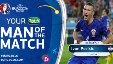 Перишич – лучший игрок матча Хорватия – Испания