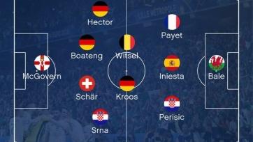 Opta опубликовала символическую сборную группового этапа Евро-2016