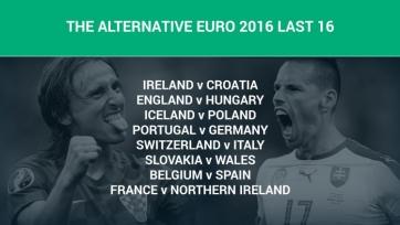 Портал Goal предложил альтернативную жеребьёвку пар 1/8 финала Евро-2016