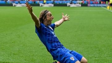 Модрич готов выйти на поле в игре с Португалией