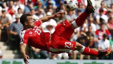 Шакири – лучший футболист матча Швейцария – Польша