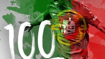 Луиш Нани стал четвёртым португальским игроком, сыгравшим сто матчей за сборную