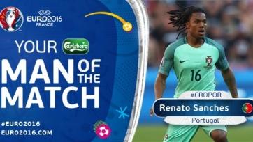 Ренату Саншеш – лучший игрок матча португальцев с хорватами