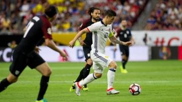 Сборная Колумбии выиграла у США в матче за третье место Кубка Америки