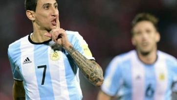Ди Мария сможет сыграть против Чили