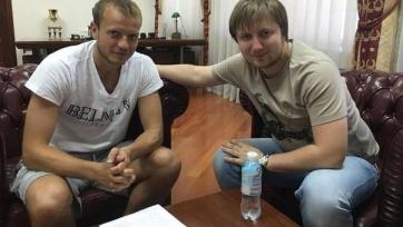 Олег Гусев подписал новый контракт с киевским «Динамо»
