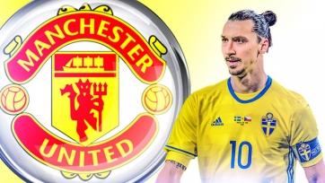 Sky Sports: Ибрагимович пройдёт медосмотр в «Манчестер Юнайтед» на следующей неделе