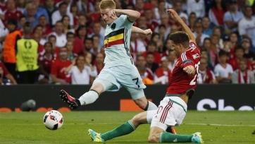 Де Брёйне: «Я жду матча с Уэльсом с нетерпением»