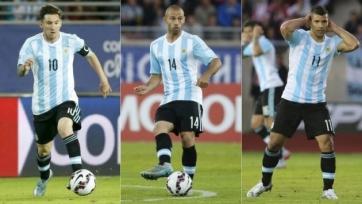 Сборная Аргентины может остаться без Мартино, Ди Марии, Лавесси и Маскерано