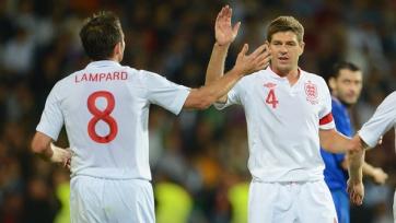 Джеррард: «Даже не могу представить себе такого, чтобы англичане не прошли Исландию»